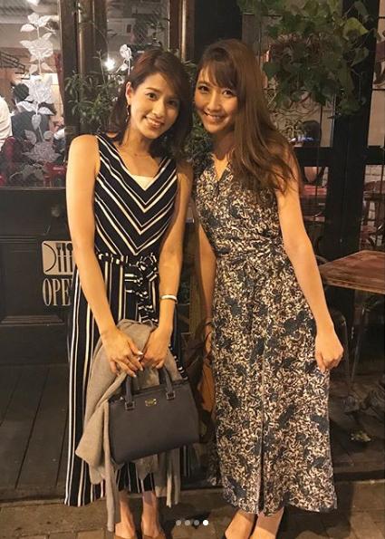 永島優美アナウンサーの夏のファッション02