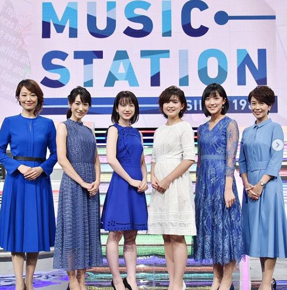竹内由恵アナウンサー夏のファッション03