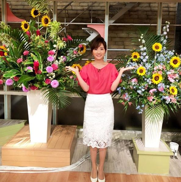 高島彩アナウンサー夏のファッション03