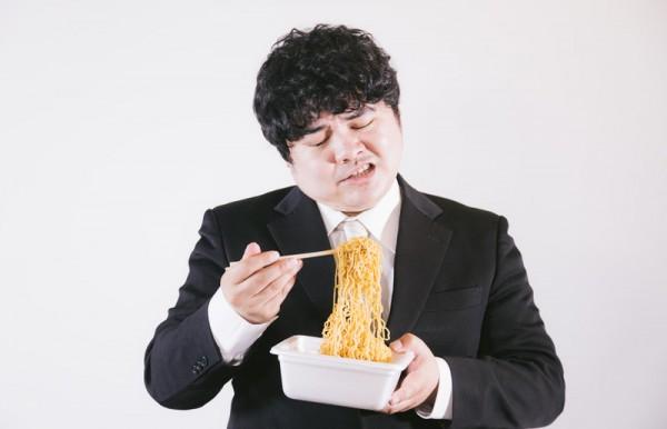 暴飲暴食で太った、肥満