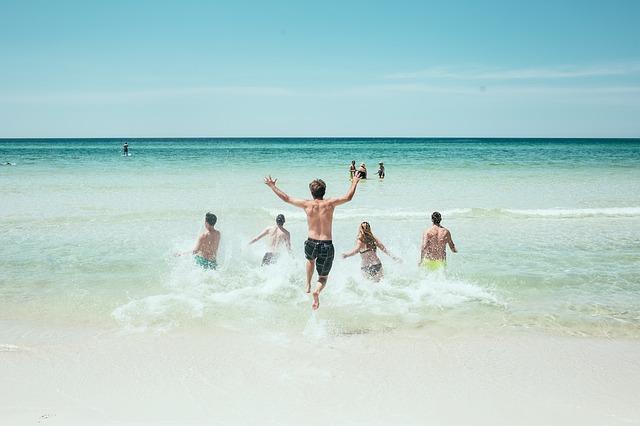 海(ビーチ、海水浴場)