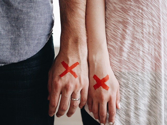 離婚、破局